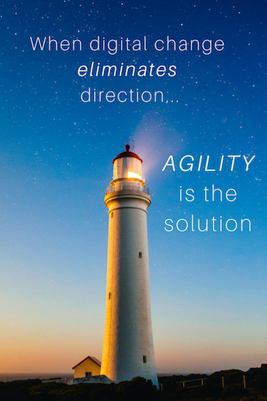 Agility - the solution how to manage digital change